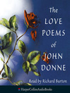 The Love Poems of John Donne (MP3)