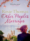 Other People's Marriages (eBook)
