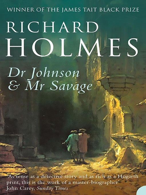 Dr Johnson and Mr Savage (eBook)