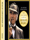 The Case Book of Sherlock Holmes (MP3)