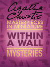 Within a Wall (eBook): An Agatha Christie Short Story