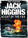 Night of the Fox (eBook): Dougal Munro and Jack Carter Series, Book 1