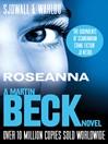 Roseanna - The Martin Beck series (eBook): Martin Beck Series, Book 1