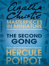 The Second Gong (eBook): A Hercule Poirot Short Story