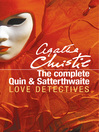 The Complete Quin and Satterthwaite (eBook)