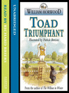 Toad Triumphant (MP3): Wind in the Willows Series, Book 2