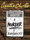 A Murder is Announced (MP3): Miss Marple Series, Book 4