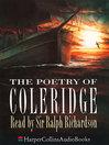 The Poetry of Coleridge (MP3)