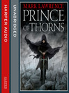 Prince of Thorns (MP3): Broken Empire Series, Book 1