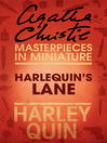 Harlequin's Lane (eBook): An Agatha Christie Short Story