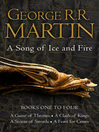 A Song of Ice and Fire (eBook): Books One to Four