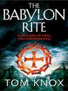 The Babylon Rite (eBook)