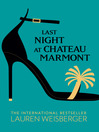 Last Night at Chateau Marmont (eBook)