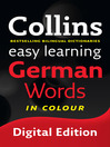 Collins Easy Learning German Words (eBook)