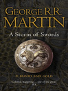 Blood and Gold (eBook): Song of Ice and Fire Series, Book 3 Part 2