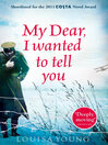 My Dear I Wanted to Tell You (eBook)