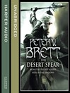 The Desert Spear (MP3): The Demon Cycle Series, Book 2