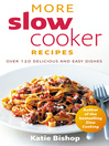 More Slow Cooker Recipes (eBook)