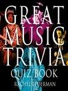 The Great Music Trivia Quiz Book (eBook)