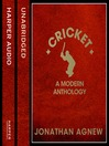 Cricket (MP3): A Modern Anthology