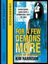 For a Few Demons More (MP3): The Hollows Series, Book 5