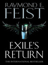 Exile's Return (eBook): Riftwar: Conclave of Shadows Series, Book 3