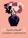 A Murder is Announced (eBook): Miss Marple Series, Book 4