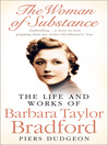 The Woman of Substance (eBook): The Life and Work of Barbara Taylor Bradford