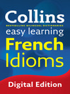 Collins Easy Learning French Idioms (eBook)