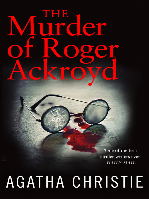 The Murder of Roger Ackroyd (eBook): Hercule Poirot Series, Book 4
