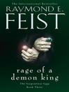 Rage of a Demon King (eBook): Riftwar: The Serpentwar Saga, Book 3