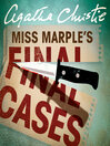 Miss Marple's Final Cases (MP3)