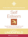 Self Esteem (MP3): Simple Steps to Develop Self-reliance and Perseverance
