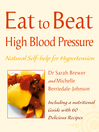 High Blood Pressure (eBook): Natural Self-help for Hypertension, including 60 recipes (Eat to Beat)