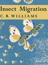 Insect Migration (eBook): Collins New Naturalist Library Series, Book 36