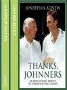 Thanks, Johnners (MP3): An Affectionate Tribute to a Broadcasting Legend