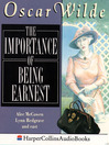 The Importance of Being Earnest (MP3)