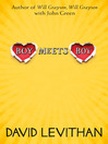 Boy Meets Boy (eBook)