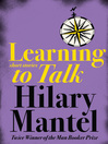 Learning to Talk (eBook): Short stories