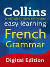 Collins Easy Learning French Grammar (eBook)