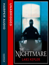 The Nightmare (MP3): Detective Inspector Joona Linna Series, Book 2