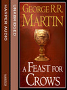A Feast for Crows, Part 1 (MP3): A Song of Ice and Fire Series, Book 4