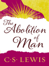 The Abolition of Man (eBook)