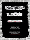 Newspaper Blackout (eBook)