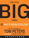 The Little Big Things (MP3): 163 Ways to Pursue EXCELLENCE