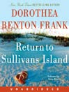 Return to Sullivans Island (MP3): Lowcountry Tales Series, Book 6