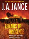 Remains of Innocence (MP3): Joanna Brady Series, Book 16