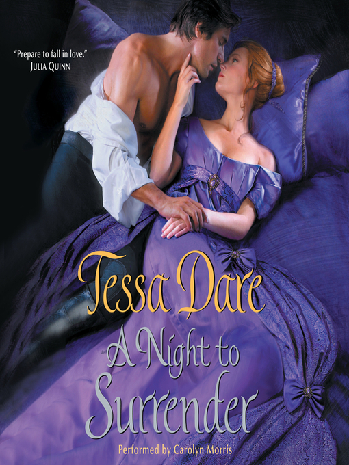 A Night to Surrender (MP3): Spindle Cove Series, Book 1