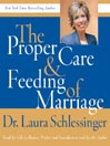 The Proper Care & Feeding of Marriage (MP3)