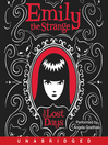 The Lost Days (MP3): Emily the Strange Series, Book 1